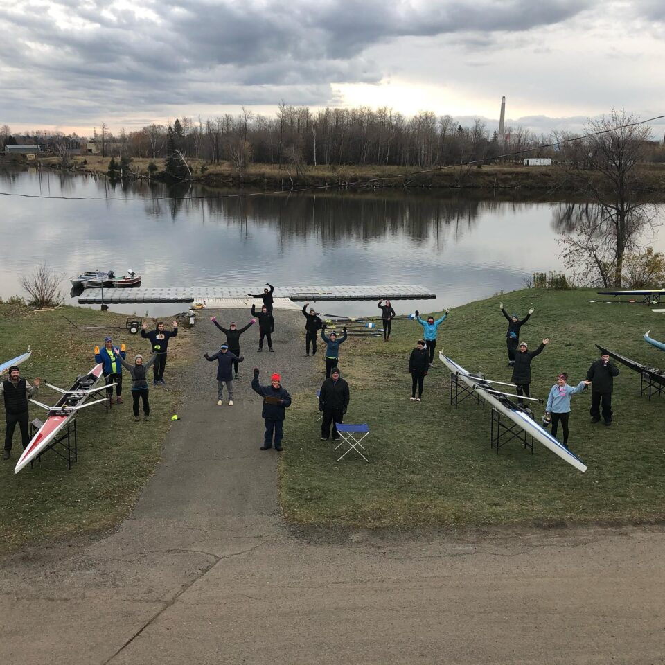 Ontario Rowers Compete in Home Head Race 3km Time Trials