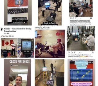 Weekend Wrap: First Ever Virtual CIRC Features Rowers From Across Rowing World